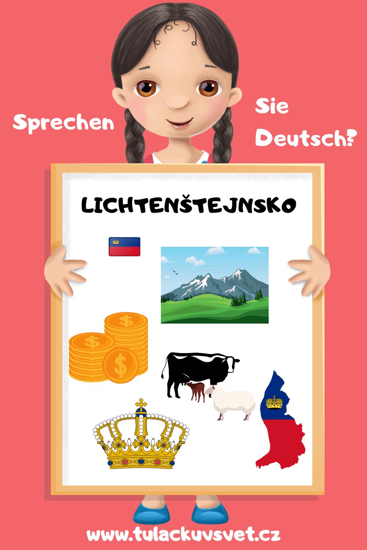 střední Evropa - Lichtenštejnsko