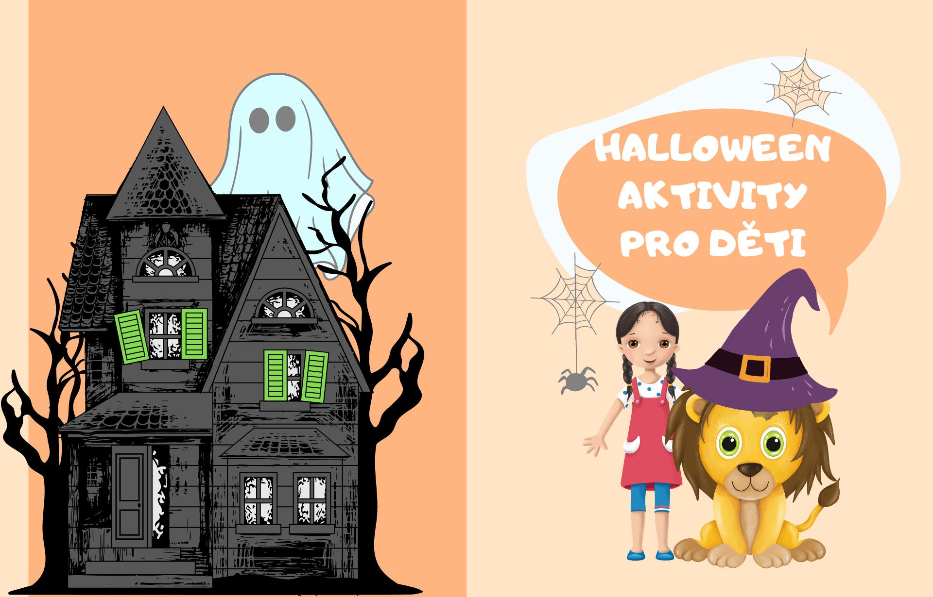 Halloweenské aktivity pro děti
