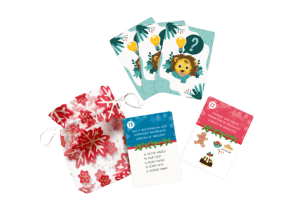 velký vánoční balíček - adventní karty