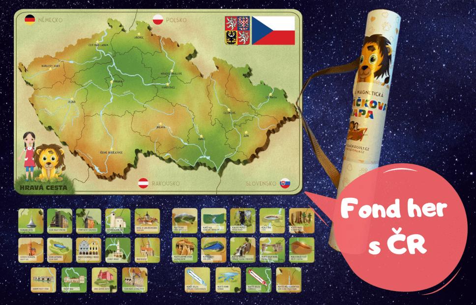 hry s mapou ČR