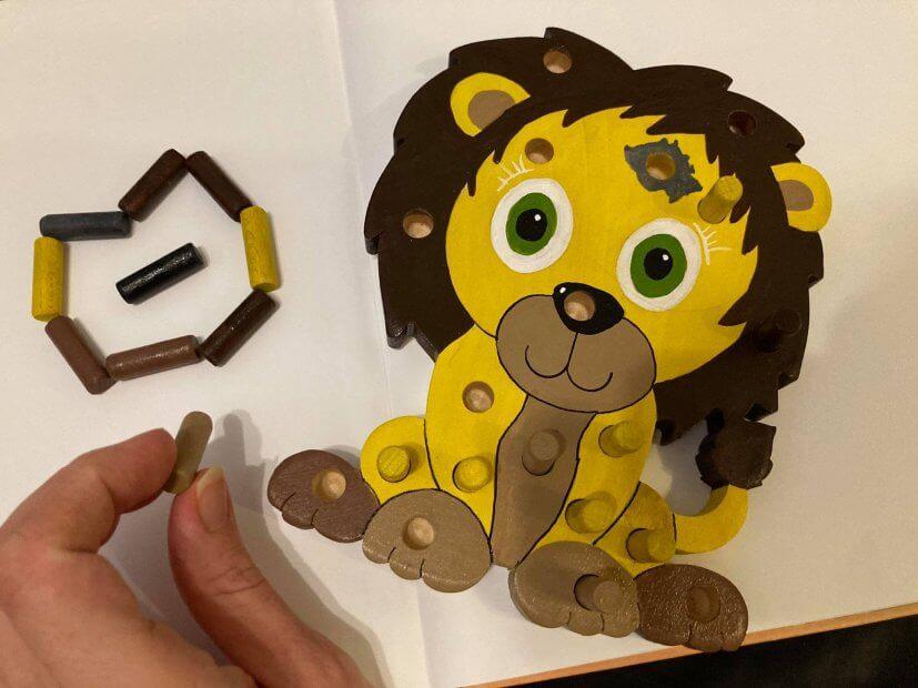 kolíkovka - hračka mnoha využití