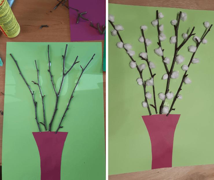 tvoření s dětmi - váza