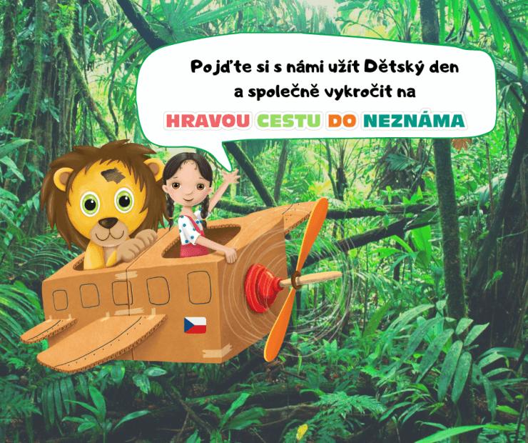 dětský den - džungle